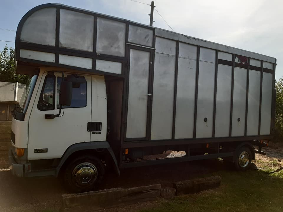 Daf 7.5t hunting box