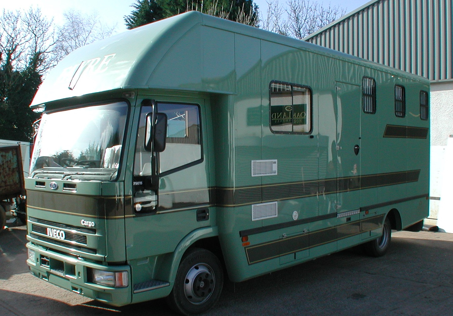 Oakland Iveco 7.5t 3 stall