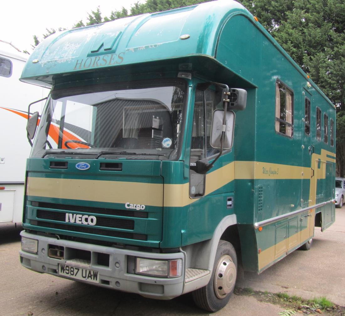 Wilcox Iveco 7.5t 3 stall